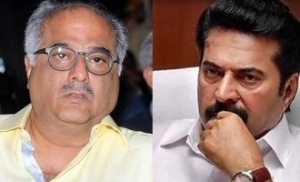 Boney Kapoor acquired remake rights of Mammootty's super hit movie
