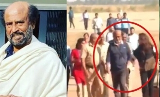 Superstar Rajinikanth shoots for 'Man Vs Wild'