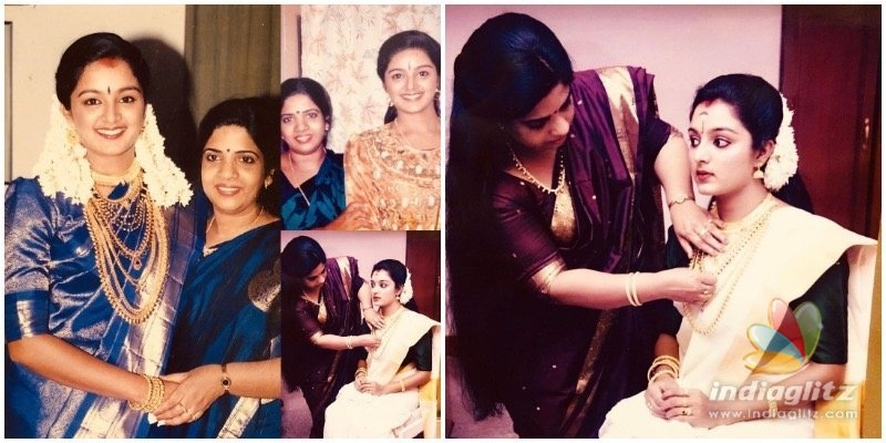 Manju Warriers wedding make-up photo goes viral!