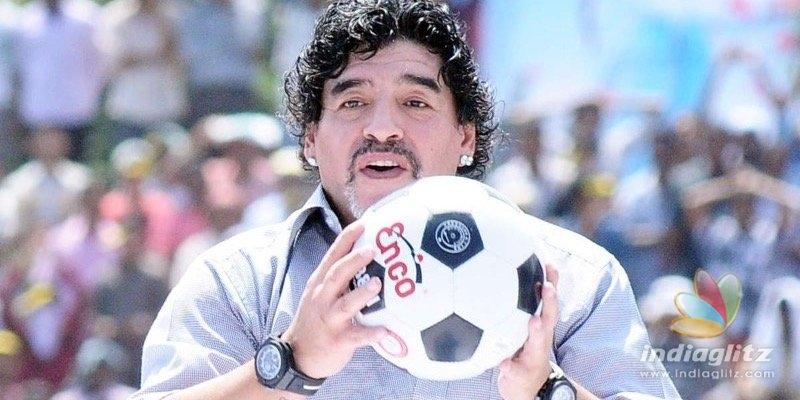 Truth behind football playerr Maradonas viral video!