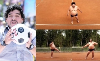 Truth behind football player Maradona's viral video!