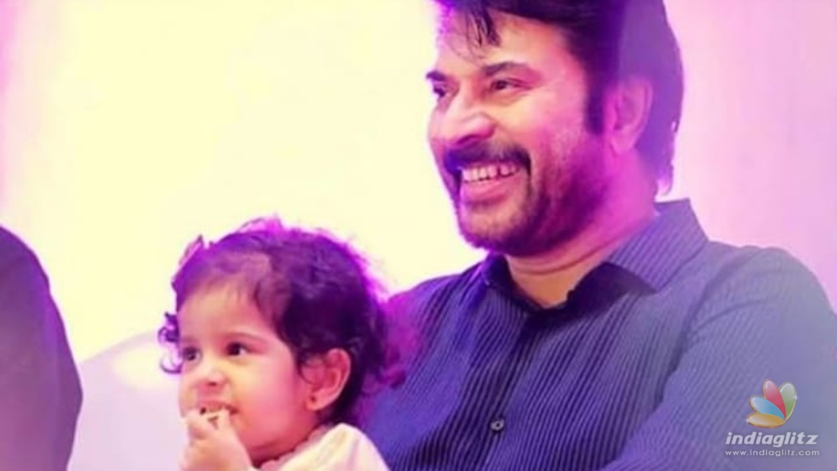 Mammootty shares an adorable picture of his granddaughter Maryam!