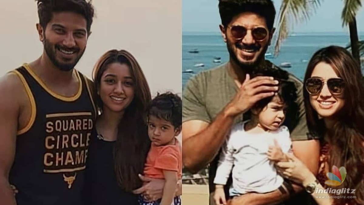 Dulquer Salmaan shares an adorable picture with daughter