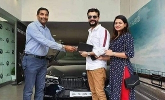 Ramesh Pisharody buys a luxurious BMW car