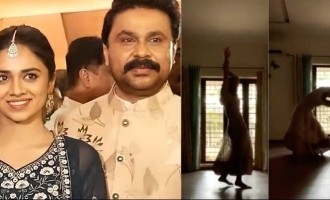 Watch: Dileep-Manju Warrier's daughter Meenakshi's latest dance performance