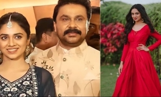 New pic: Dileep's daughter Meenakshi slays it in red !
