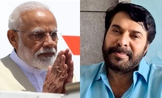 PM Modi thanks Mammootty!