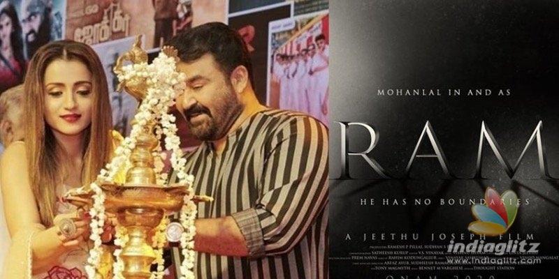 Mohanlals new still from Ram goes viral!