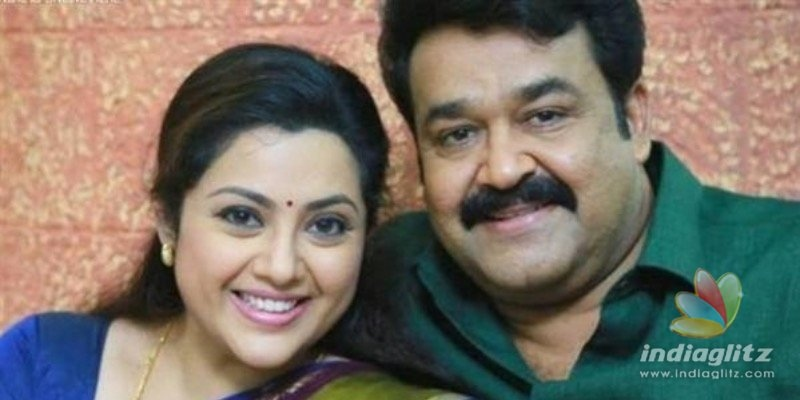 Meena travels to airport in PPE to join 'Drishyam 2'