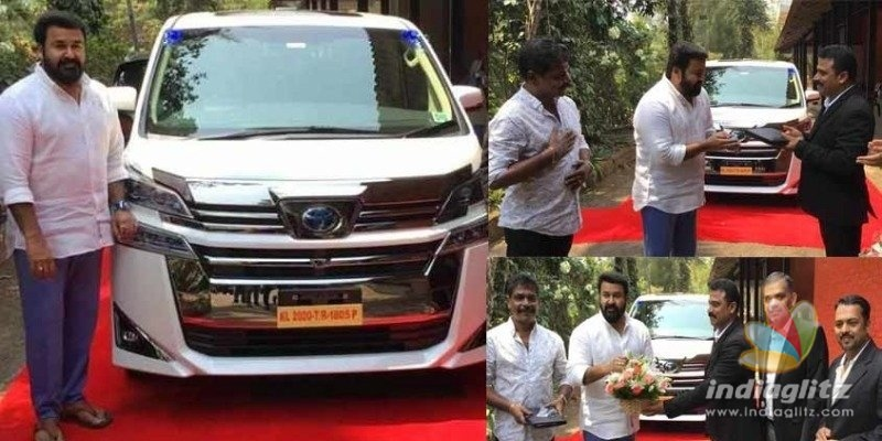Mohanlals brings home a brand new luxurious car!