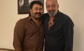 Mohanlal's special birthday wish for Sanjay Dutt