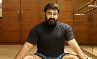 Mohanlal's post-workout click will inspire you