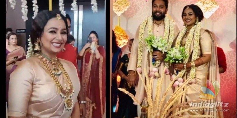 In pics: Popular young actress enters wedlock