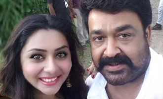 Namitha is bewitched by Mohanlal