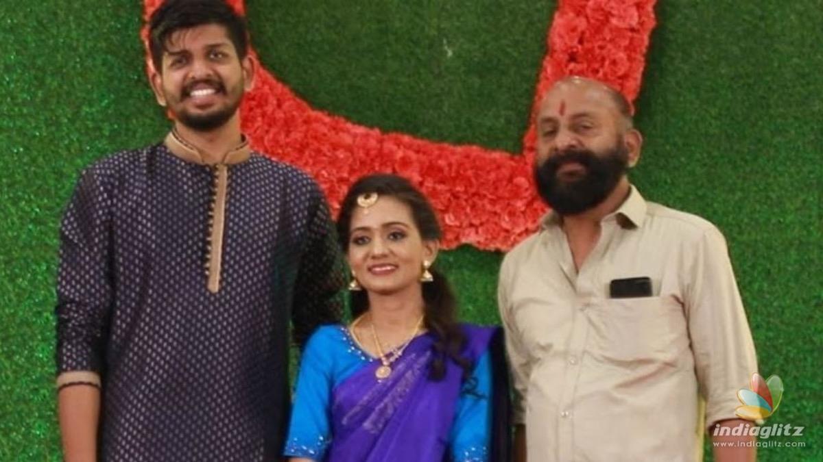 Popular actor Nandu Pothuvals son enters wedlock