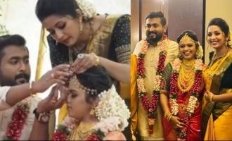See Pics: Navya Nair's brother Rahul enters wedlock!