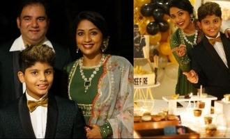 In pics: Actress Navya Nair hosts a lavish birthday party for son