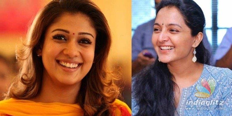 Manju Warrier has all praises for Nayanthara