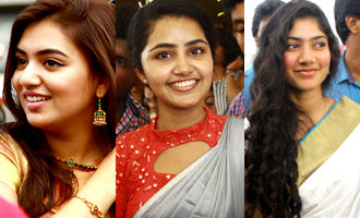 All eyes on Nazriya, Sai Pallavi and Anupama