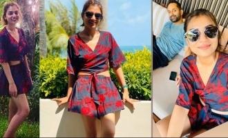 Nazriya sheds weight and looks glamorous, VIRAL PICS
