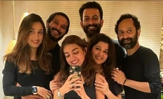 Prithviraj, Dulquer and Fahadh's families get together; Pic goes VIRAL!