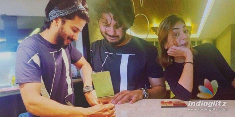 PHOTOS: Nazriya shares a cute birthday wish for Dulquer Salmaan