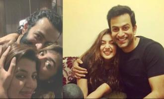 Prithviraj's sweetest birthday wish for Nazriya wins the internet