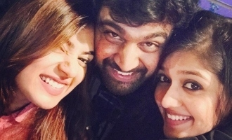 Nazriya pens a heartfelt birthday note for Meghna Raj