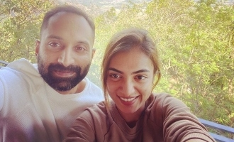 VIRAL: Nazriya clicks a picture of Fahadh Faasil