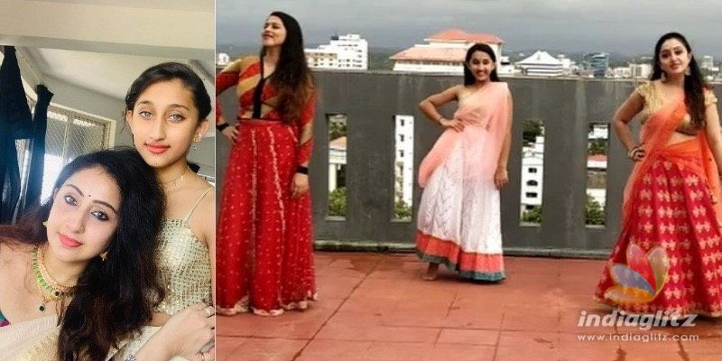 WATCH: Nithya Das dance video with daughter