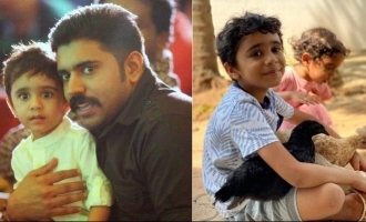 Nivin Pauly's son Daveed turns 8