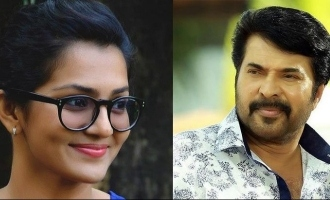 Mammootty does it for Parvathy