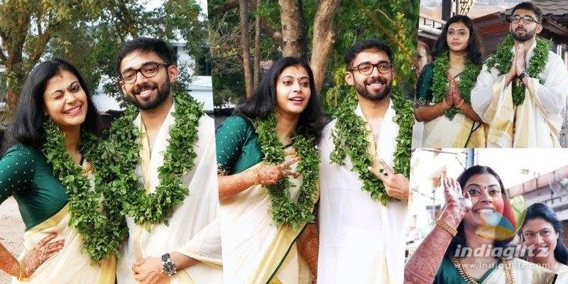 Actress Parvathy enters wedlock