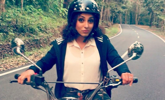 Pearle Maaney plays a biker in 'Team Five'