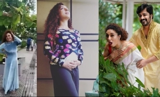 Pearle Maaney flaunts her baby bump in style!