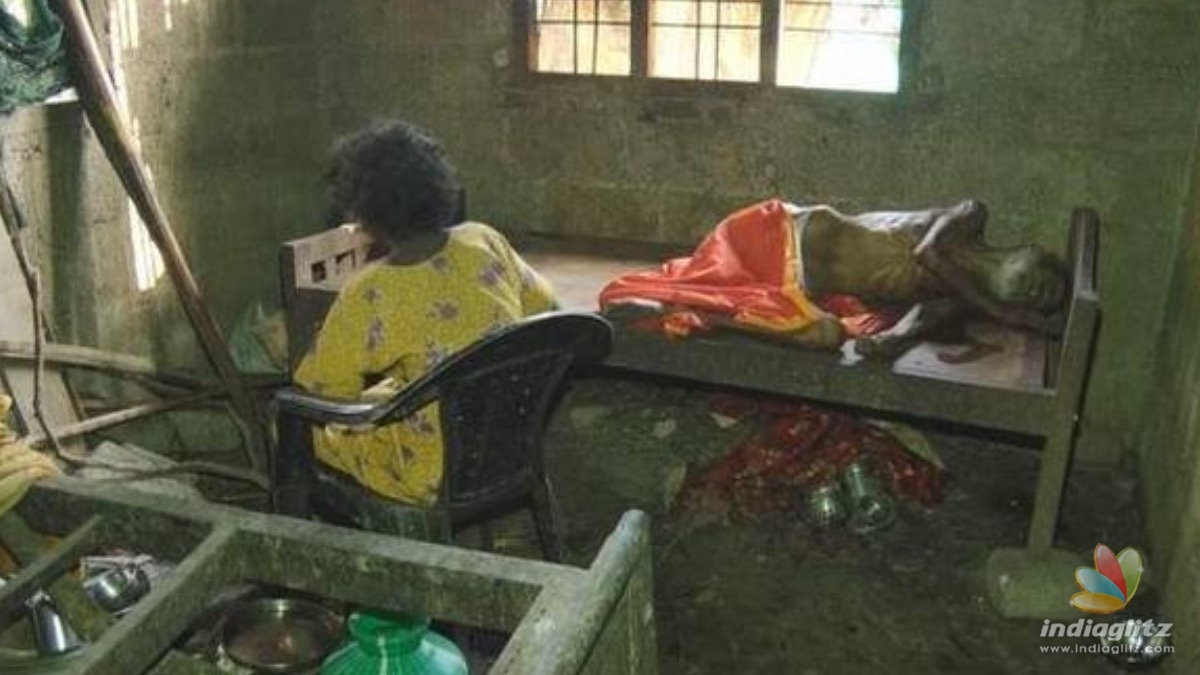 Elderly man dies of starvation after being locked up in a room by his son