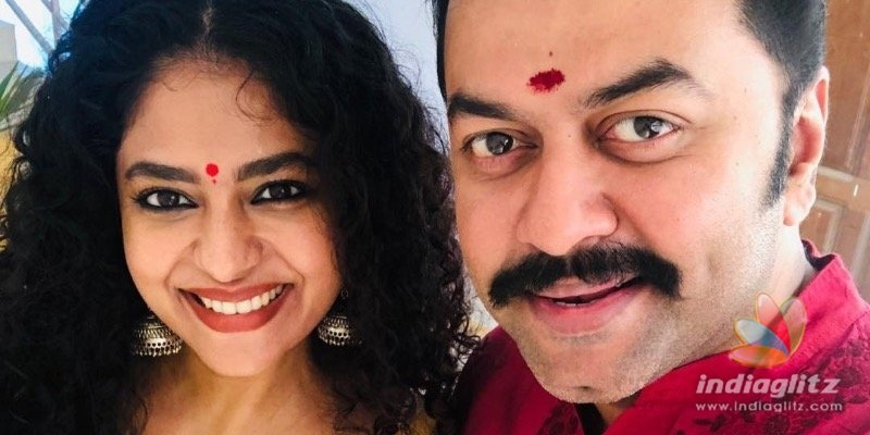 Poornima Indrajiths Honeymoon picture goes viral!