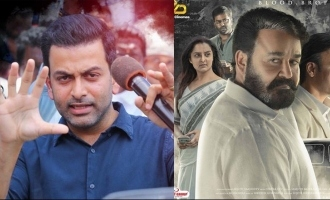 One year of Lucifer: Prithviraj pens an emotional note