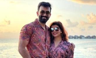 See pics: Prithviraj holidays in Maldives with family
