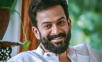 Prithviraj resumes the shoot of Kaduva