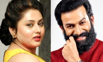 Namitha picks Prithviraj as her favorite Malayalam actor!