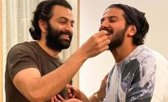 Prithviraj's comment on Dulquer Salmaan's latest pic goes viral!