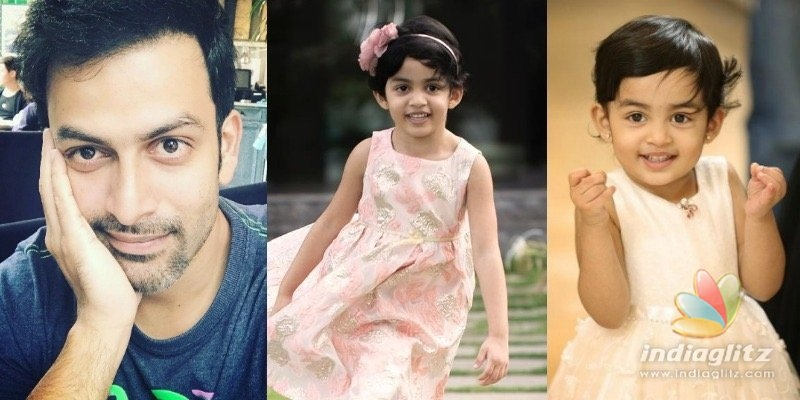 Prithviraj says his 5-year-old daughters English is way better than his!