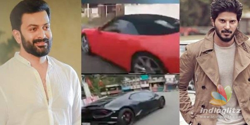 Dulquer and Prithvirajs VIRAL car racing video lands them in trouble!