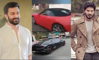 Dulquer and Prithviraj's VIRAL car racing video lands them in trouble!