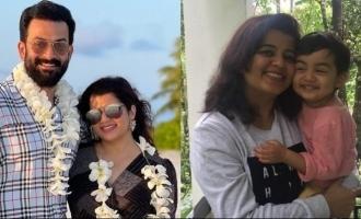 Prithviraj's birthday wishes for wifey Supriya Menon is too cute to miss!