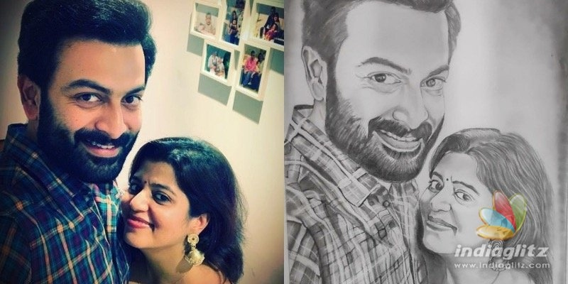 Prithvirajs comment on his wifes post goes viral!