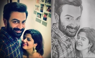 Prithviraj's comment on his wife's post goes viral!