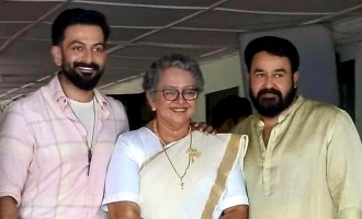 Prithviraj shares a special picture from the sets of Bro Daddy