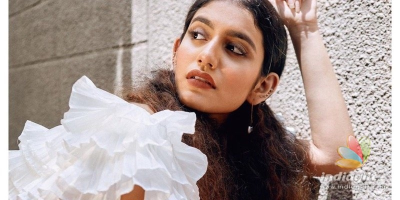 Priya Varrier sets the internet on fire with glamorous pics